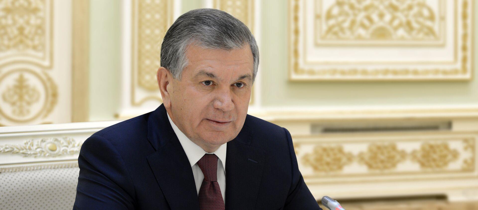 Prezident Uzbekistana Shavkat Mirziyoyev - Sputnik Oʻzbekiston, 1920, 14.02.2018