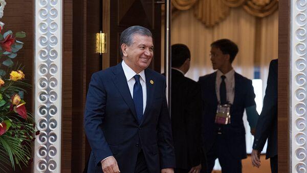 Shavkat Mirziyoyev na sammite OIS v Astane - Sputnik Oʻzbekiston