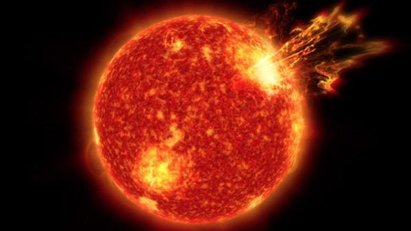 Вспышки на Солнце, архивное фото - Sputnik Ўзбекистон