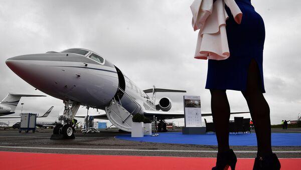 Международная выставка деловой авиации JetExpo 2017 - Sputnik Ўзбекистон