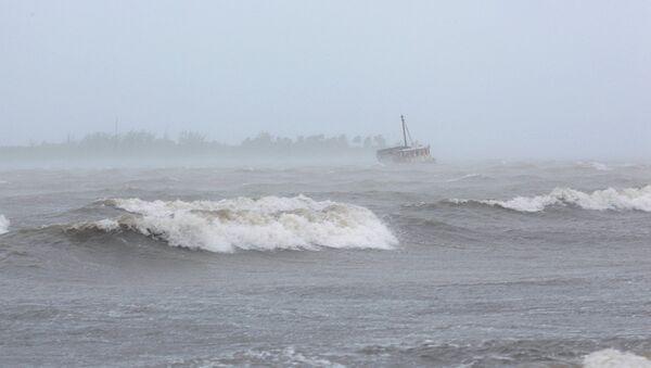 Ураган Ирма в северной части Карибского бассейна - Sputnik Узбекистан