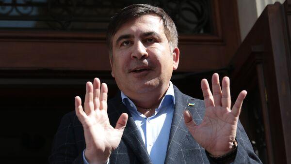Пресс-конференция Михаила Саакашвили во Львове - Sputnik Ўзбекистон