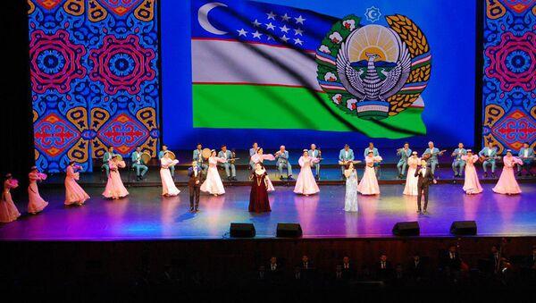 Концерт-открытие дней узбекской культуры в России в Государственном Кремлевском Дворце - Sputnik Узбекистан