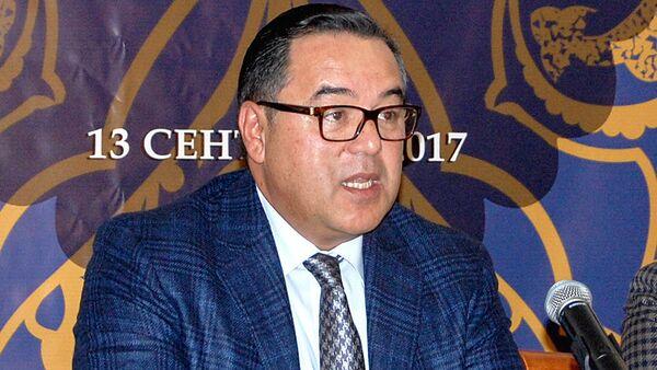 Руководитель проекта Культурное наследие Узбекистана в собраниях мира, председатель Национальной ассоциации электронных СМИ Узбекистана Фирдавс Аблухаликов - Sputnik Узбекистан