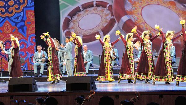 Концерт-открытие Дней узбекской культуры в России в Государственном Кремлевском дворце - Sputnik Ўзбекистон