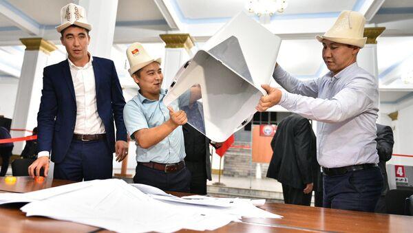 Qirgʻizistonda parlament saylovi - Sputnik Oʻzbekiston
