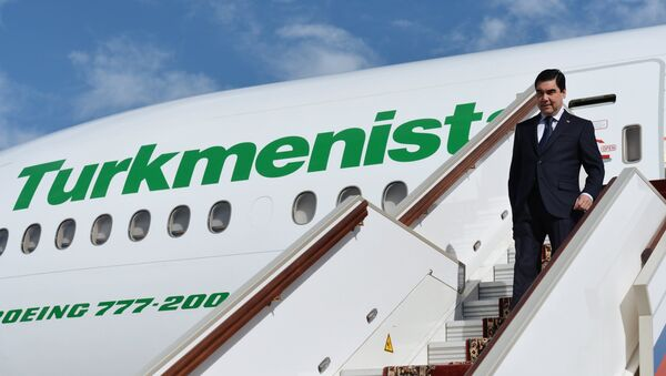 Prezident Turkmenistana Gurbangulы Berdыmuxamedov - Sputnik Oʻzbekiston