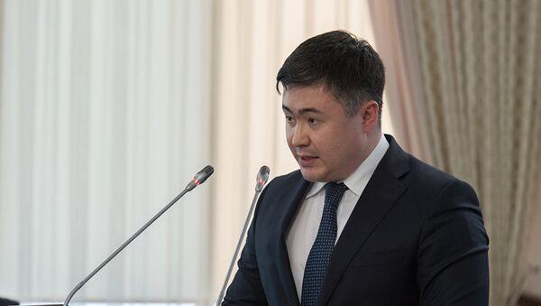 Министр национальной экономики Республики Казахстан Тимур Сулейменов - Sputnik Узбекистан