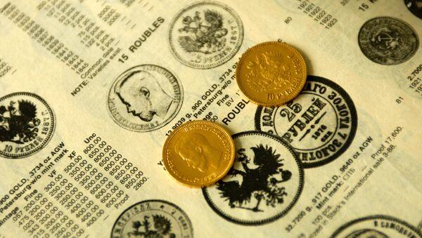Золотые монеты - Sputnik Ўзбекистон