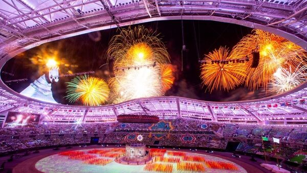 V Азиатские Игры церемония открытия - Sputnik Ўзбекистон