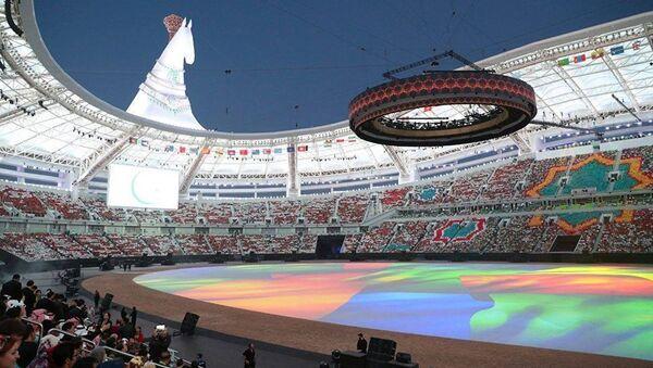 Церемония открытия V Азиатских игр в закрытых помещениях и по боевым искусствам - Sputnik Узбекистан