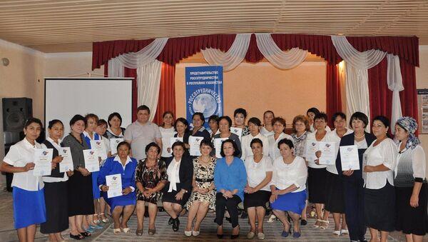 РЦНК провел семинар Презентация инновационных технологий преподавания русского языка - Sputnik Узбекистан