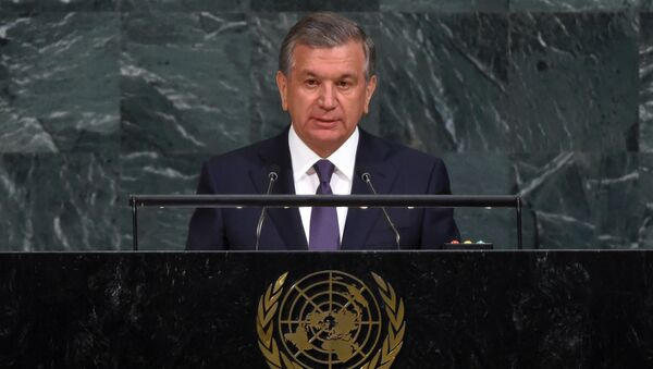 Шавкат Мирзиёев выступил на 72-й сессии Генеральной Ассамблеи ООН - Sputnik Ўзбекистон