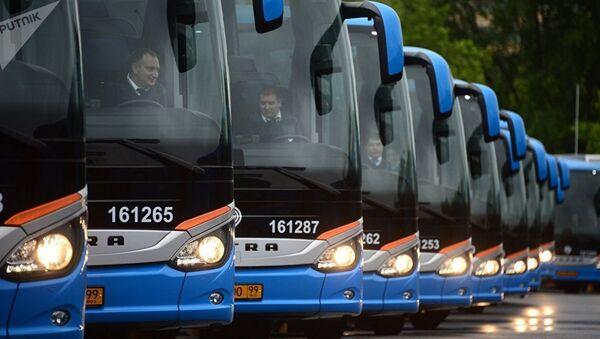Рейсовые автобусы - Sputnik Узбекистан