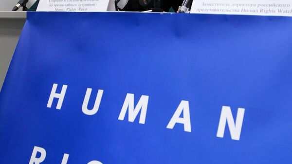 Пресс-конференция представителей Human Rights Watch на тему: «Августовский конфликт на Южном Кавказе и права человека» - Sputnik Ўзбекистон