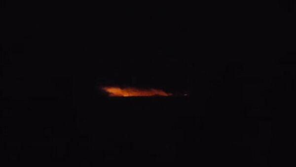 СПУТНИК_Склад боеприпасов горит в Виннице - Sputnik Узбекистан