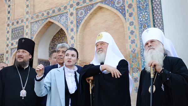 Визит патриарха Кирилла в Узбекистан - Sputnik Ўзбекистон