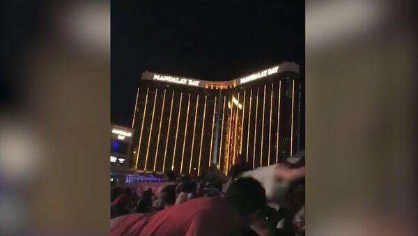Kadrы s mesta intsidenta so strelboy v Las-Vegase - Sputnik Oʻzbekiston