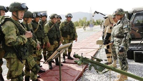 Начались узбекско-российские военные учения - Sputnik Ўзбекистон