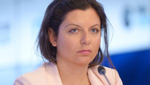 Главный редактор телеканала RT и МИА Россия сегодня Маргарита Симоньян - Sputnik Узбекистан