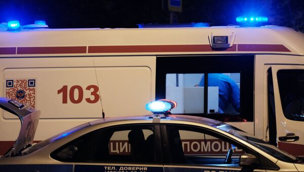 Полиция и скорая помощь - Sputnik Ўзбекистон