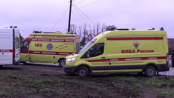 Avtobus i poyezd stolknulis na j/d pereyezde vo Vladimirskoy oblasti - Sputnik Oʻzbekiston