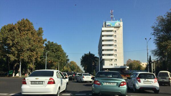 Открытие улицы в Ташкенте - Sputnik Ўзбекистон