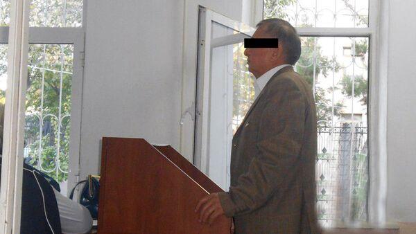 Абдужалил Расулов - отец Ислома Тулаганова, обвиняемого в деле об убийстве Жасура Ибрагимова - Sputnik Ўзбекистон