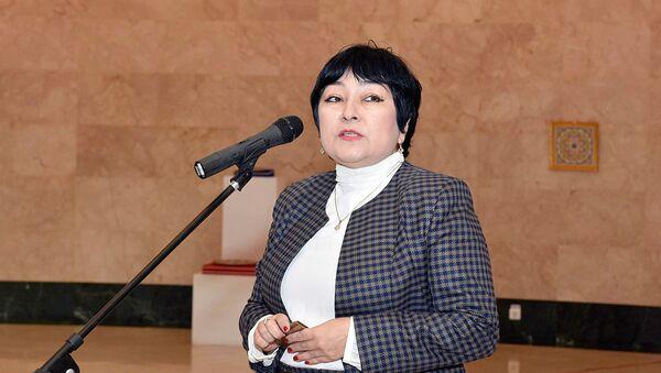 Камола Акилова, заместитель министра культуры Узбекистана - Sputnik Ўзбекистон