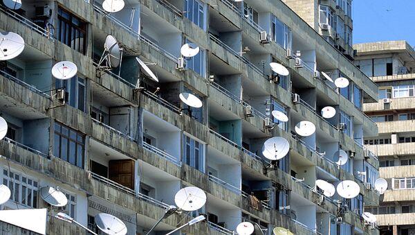 Sputnikovыe antennы na balkonax doma - Sputnik Oʻzbekiston
