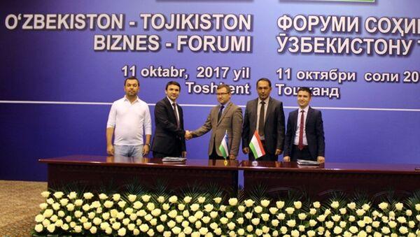 Turoperatorы Tadjikistana i Uzbekistana zaklyuchili memorandum o sotrudnichestve v ramkax biznes-foruma - Sputnik Oʻzbekiston