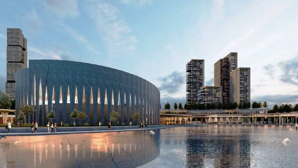 Одобрена концепция Tashkent city - Sputnik Ўзбекистон