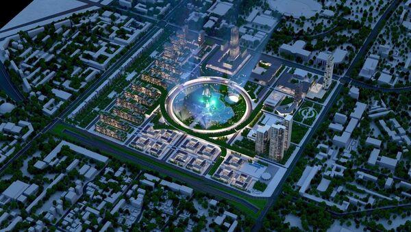Проект делового центра Tashkent City - Sputnik Узбекистан