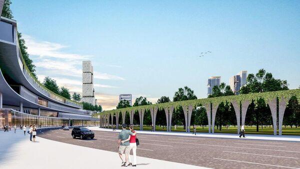 Проект делового центра Tashkent City - Sputnik Ўзбекистон