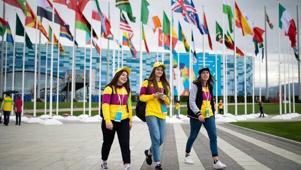 XIX Всемирный фестиваль молодежи и студентов. День первый - Sputnik Узбекистан