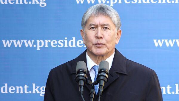 Такой помощи не надо — Атамбаев высказался о $100 млн от Казахстана - Sputnik Узбекистан