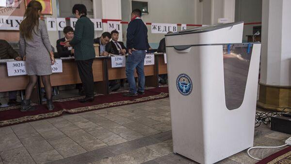 Выборы президента Киргизии - Sputnik Ўзбекистон