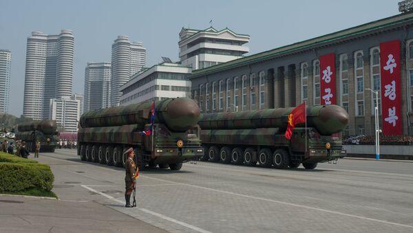 Праздничные мероприятия, посвященные 105-й годовщине со дня рождения Ким Ир Сена, в КНДР - Sputnik Ўзбекистон