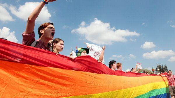 Митинг ЛГБТ-сообщества - Sputnik Ўзбекистон