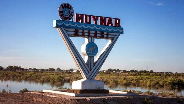 Въезд в город Муйнак - Sputnik Узбекистан