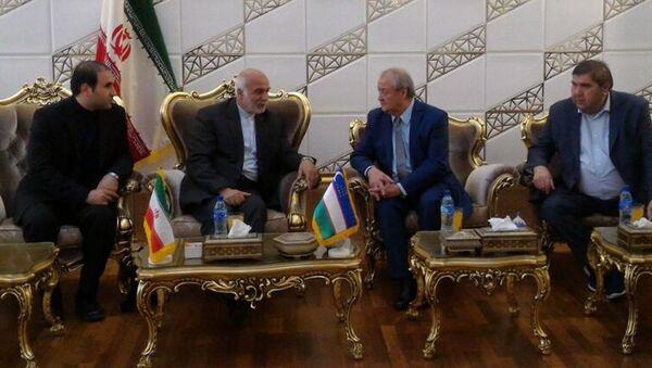 Делегация Узбекистана в Иране - Sputnik Узбекистан