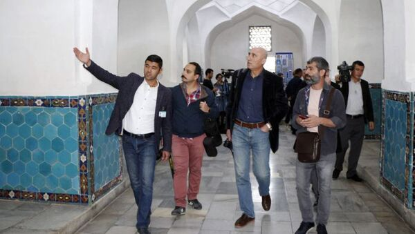 Визит представителей ведущих СМИ Турции в Узбекистан - Sputnik Ўзбекистон