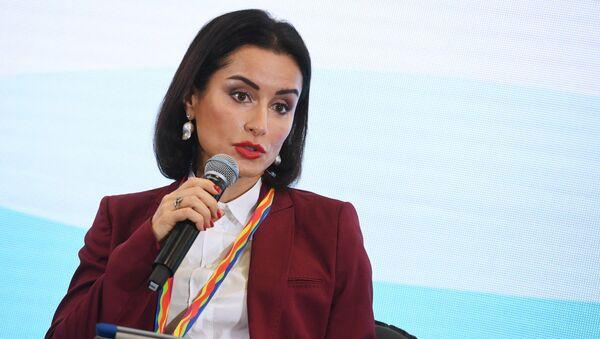 Генеральный продюсер телеканала Матч ТВ Тина Канделаки - Sputnik Узбекистан
