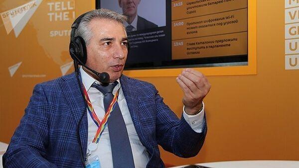 Вице-президент Общероссийской общественной организации малого и среднего предпринимательства Опора России Эдуард Омаров - Sputnik Узбекистан