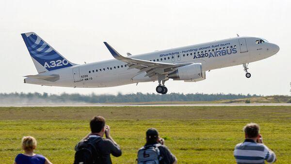 Samolet Airbus 320 - Sputnik Oʻzbekiston