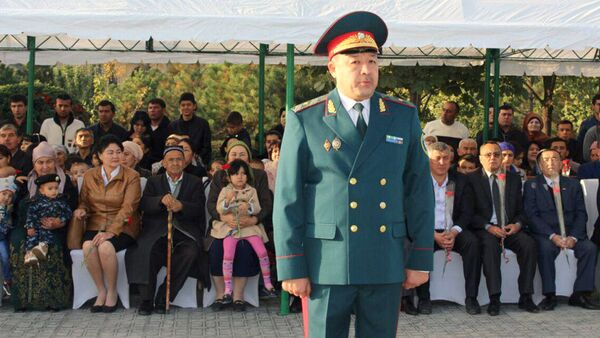 General - mayor Kurbanov, nachalnik GUVD Tashkenta - Sputnik Oʻzbekiston