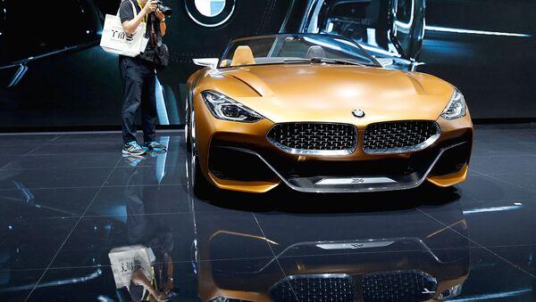 Концепт BMW Z4 на 45-м Токио Мотор шоу - Sputnik Ўзбекистон