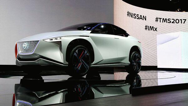 Концепт Nissan IMx zero emission на Токио Мотор шоу - Sputnik Ўзбекистон