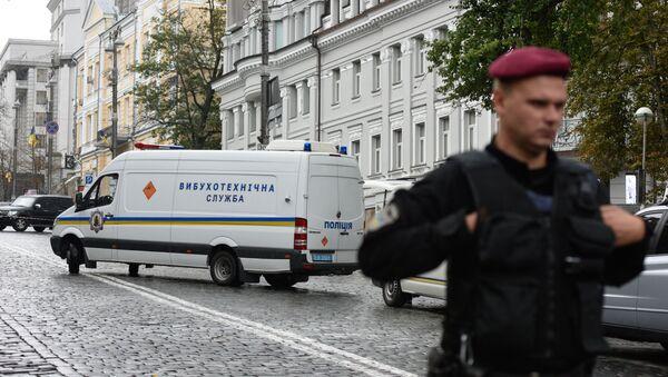 Взрыв произошел в центре Киева - Sputnik Узбекистан
