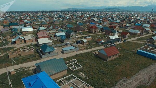 Жилые дома в жилом массиве. Архивное фото - Sputnik Узбекистан